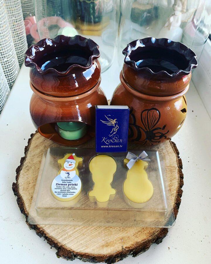 Bišu vaska kausējamās figūriņas komplektā ar keramikas kausējamo trauku