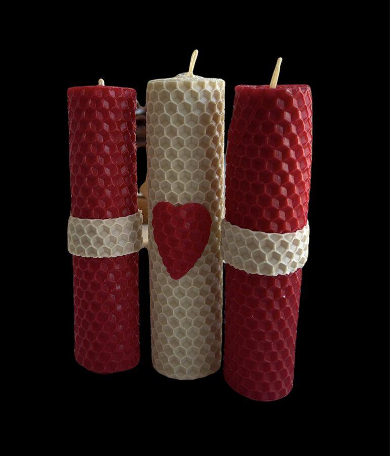 Svētku sveces - Latvijas Republikas proklamēšanas dienai