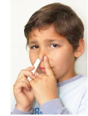 Deguna inhalators metāla futlārī