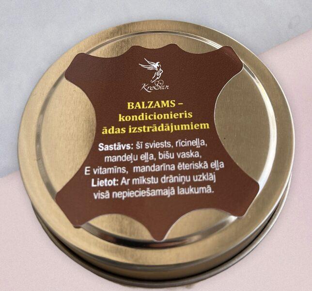 Balzams – kondicionieris ādas izstrādājumiem 120 ml